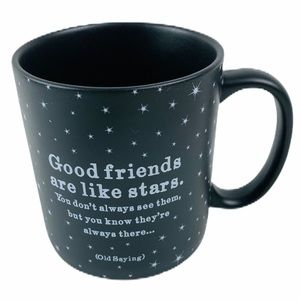 Quotable Good Friends Are Like Stars Quite Mug